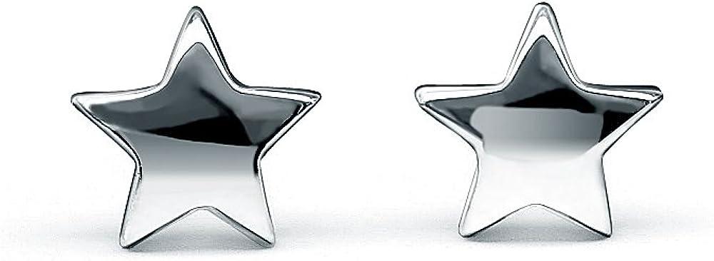 HANFLY Star Earrings Sterling Silver Star Stud Earrings Tiny Star Earrings