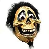 Halloween Skull Latex Mask Full Head Movie Coco