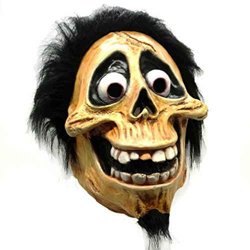 Skull Hector Rivera Mask Cosplay Movie Coco Migul Latex Masks Costumes Halloween Party Prop (Hector)