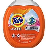 61 Count Tide PODS Plus Downy 4 in 1 HE Turbo Laundry Detergent Pacs