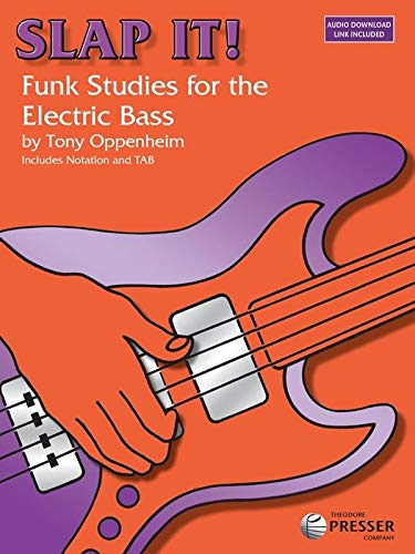 Slap It: Funk Studies for the Electric Bass - MP3 Audio Download