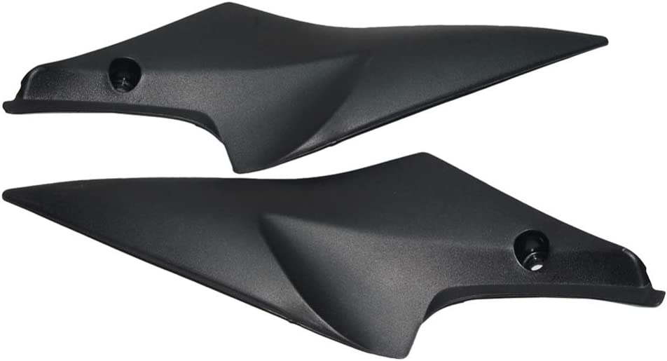 Black Tank Side Fairing Panel Covers Trim For Suzuki GSXR600 750 2006 2007 K6