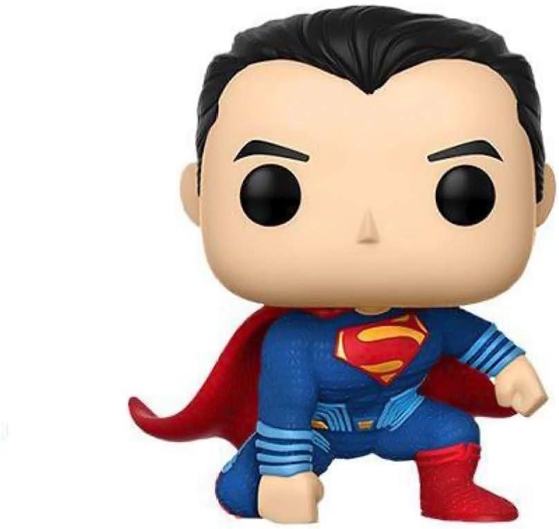 Funko Pop!- Pop Movies: DC Figura de Vinilo Superman, colección Justice League, Multicolor (13704)