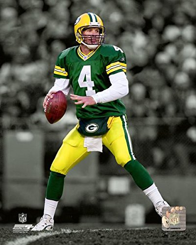Brett Favre Green Bay Packers Action Photo (Size: 8