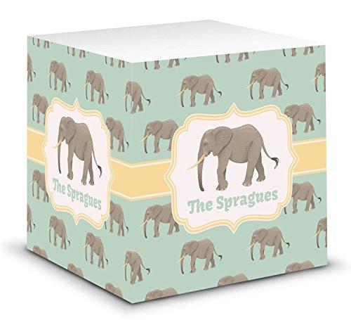 - Elephant Sticky Note Cube (Personalized)