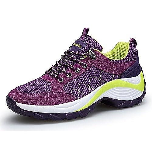 Barato Running Dafenp De Deporte Zapatos Para Zapatillas Mujer 7gT7X