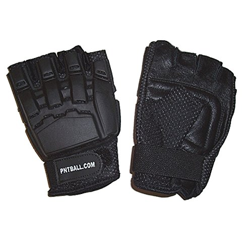 Half Finger Paintball Gloves - X-Large