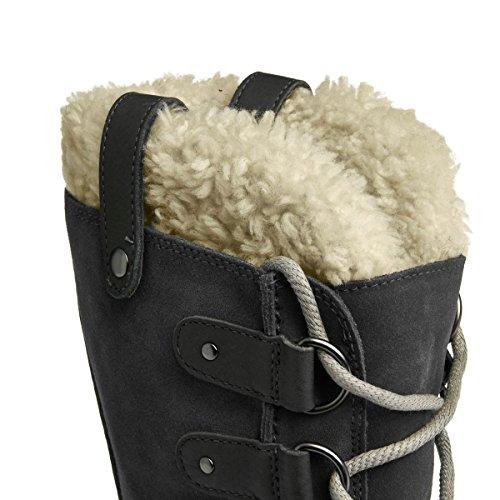 Arctic Of SOREL Dark Boot Women's Joan Black Grey PBwwq6Zx
