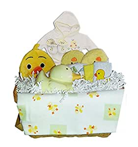 Baby Duck Gift Basket