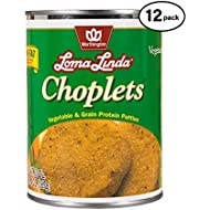 Loma Linda - Plant-Based - Choplets (20 oz.) (Pack of 12) - Kosher