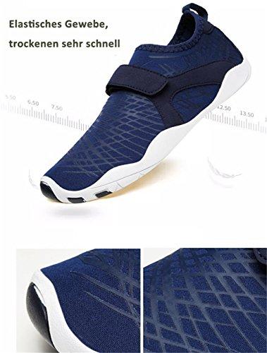 Plage 3 Style bleu Chaussures De Nus Ailu Rapide Sport Femme Aquatiques Pieds Chaussons Homme Surf À Séchage Chaussettes OpcqcBaT