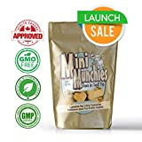 Hemp Oil Dog Treats - All Natural Calming Pet Superfood & Health Supplement -LAUNCH SALE- Omega 3,6,9 & Vitamins A,B,C,E -NON GMO- Health Canada Approved - Aids with Dogs Separation Anxiety & Stress