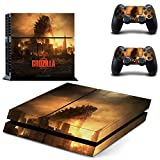 Godzilla ps4 skin decal for console and 2 controllers