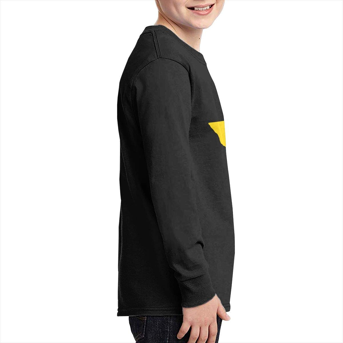 MiiyarHome Womens Long Sleeve Baseball T-Shirts Thanksgiving Lingerie Girls Raglan/Sleeves Jersey Tee Shirt Black