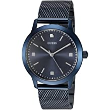 GUESS Men's U0919G4 Analog Display Quartz Blue Watch