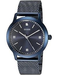 GUESS Men's U0919G4 Analog Display Quartz Blue Watch