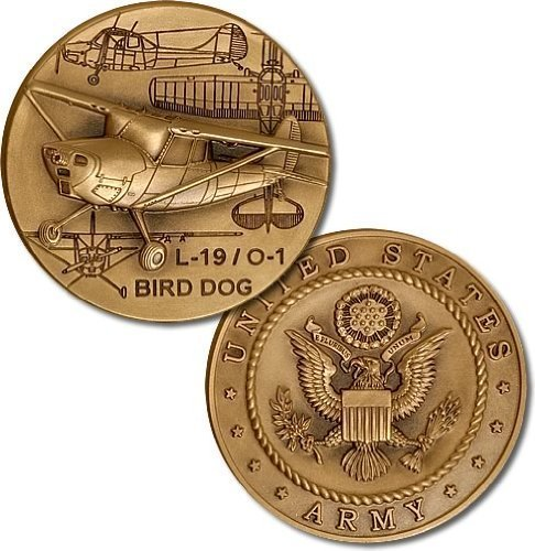 L19 Bird Dog - L-19 / O-1 Bird Dog Challenge Coin