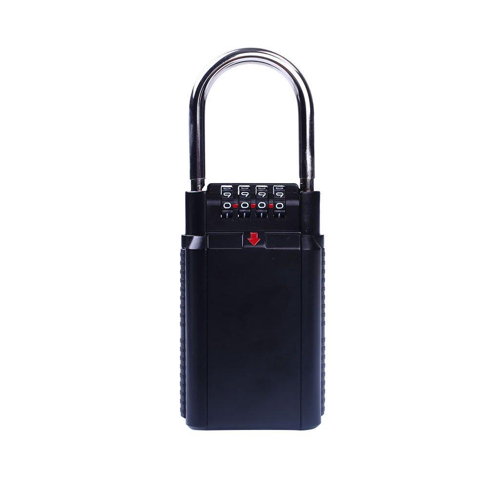 Cerradura de seguridad de 4 dígitos Bloqueo de contraseña bienes Bloques de bienes contraseña raíces Caja de bloqueo Caja de bloqueo 1459df