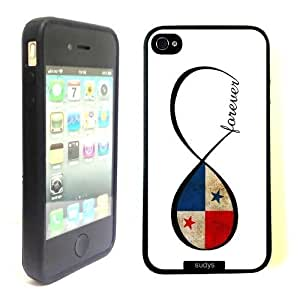 TYH - Pink Ladoo? iPhone 5C Case Phone Cover Panamanianever Panama Flag Infinity ending phone case