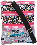 LeSportsac Kasey Cross Body,City Hop Blocking,One Size, Bags Central