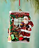 Christopher Radko Window Shopper Glass Christmas Ornament 2014 by Christopher Radko