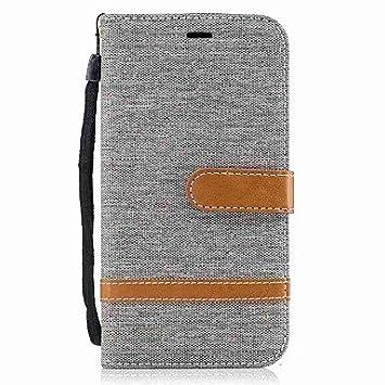 Casos hermosos, cubiertas, Funda Para Motorola G5 Plus G4 Plus Soporte de Coche Cartera Antigolpes con ...