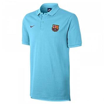 Polo de hombre FC Barcelona 2017-2018 Nike: Amazon.es: Deportes y aire libre