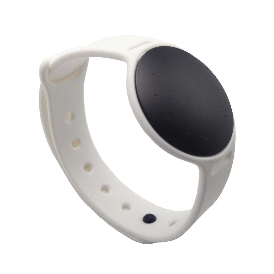 VESNIBA Replacement Bracelet Sport Activity Wristband Silicone Band for Misfit Shine 2 Tracker (White)