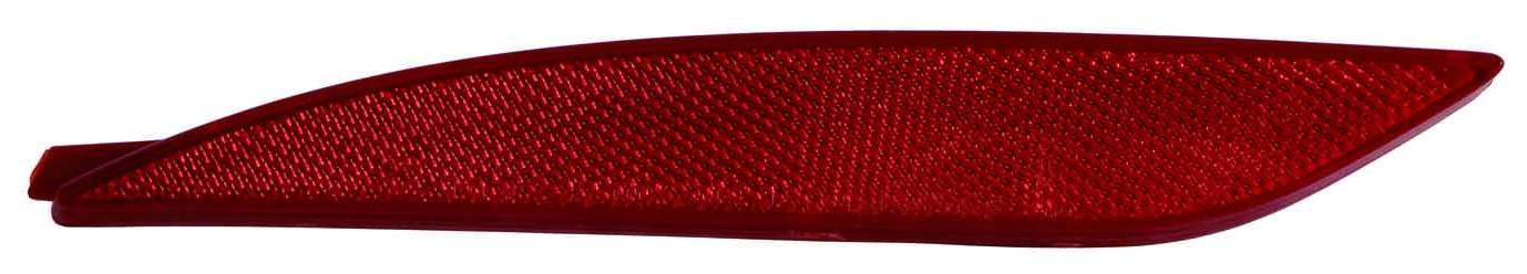 Depo 321-2906R-UF Rear Reflector HYUNDAI SONATA 11-13 LAMP UNIT PASSENGER SIDE NSF
