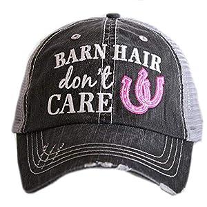 KATYDID Barn Hair Don't Care Baseball Cap – Trucker Hats for Women – Stylish Cute Sun Hat