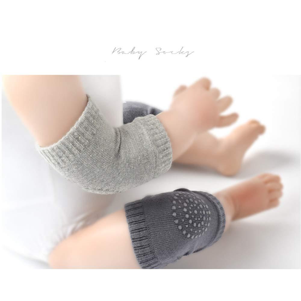 5 Pair Baby Knee Pads Crawling Anti-Slip Knee for Unisex Baby Toddlers