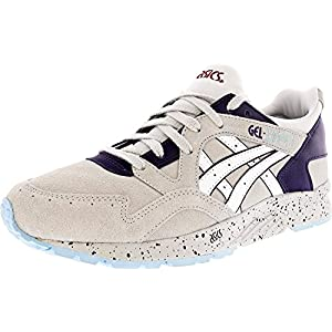 ASICS Women's Gel-Lyte V Soft Grey/White Ankle-High Leather Walking Shoe - 8M
