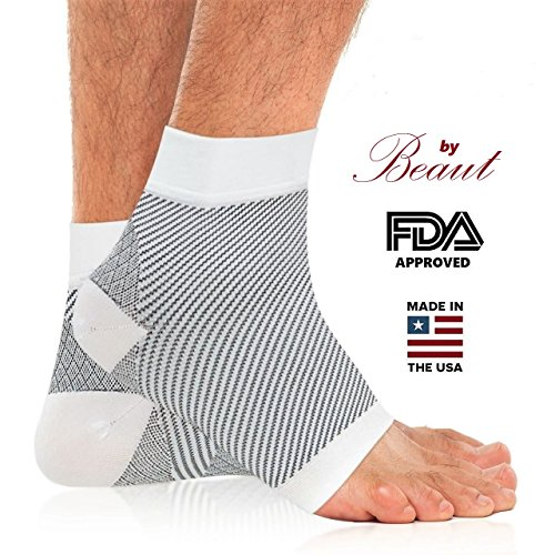 Plantar Fasciitis Compression Socks to Relieve Foot Pain, Swelling and Edema - Foot Sleeves for Plantar Fasciitis Heel, Arch and Ankle Support - Quality Ankle Socks Improves Circulation