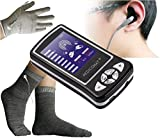 Pain in Hands and Feet Joints Medicomat-6A Acupuncture Pain Treatment Silver Conductive Socks Gloves Hands Feet Massage