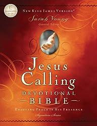 Jesus Calling Devotional Bible, NKJV: Enjoying Peace in His Presence (Signature)