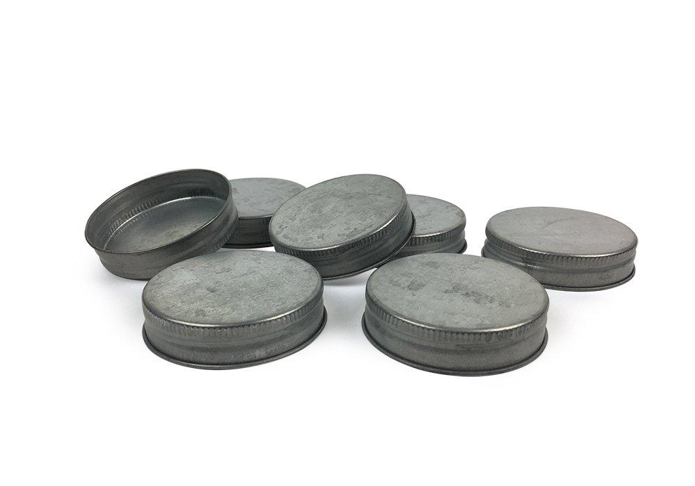 Mason Jar Lids - Fits standard size Mason Jars - Set of 96
