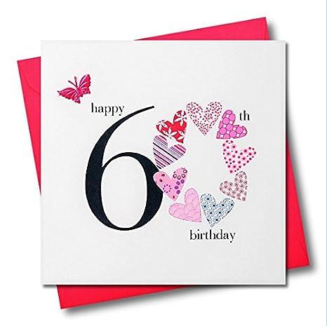Amazon.com: Claire Giles Corazones y estrellas Happy 60th ...