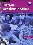 Instant Academic Skills, Sarah Lane, 0521121620