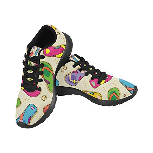InterestPrint Womens Jogging Running Sneaker Lightweight Go Easy Walking Comfort Sports Athletic Shoes Multi 1 O1lT1v