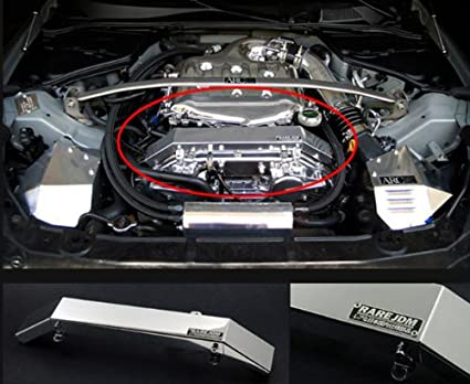 amazon com rare jdm polished aluminum engine wire harness cover rh amazon com BMW Wiring Harness 7.3 Powerstroke Engine Wiring Harness