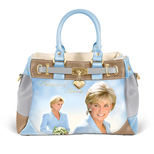 Hearts Diana The Bag Exchange Design of Full Honouring Diana Bradford Handcrafted colour Handbag The Hearts to Exclusive Princess With Princess Artwork Of wqqHX7P