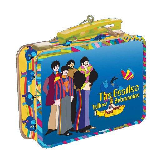 The Beatles Ornament Mini Lunch Box Yellow Submarine 2 Beatles Yellow Submarine Ornament