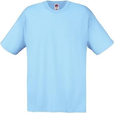Fruit of the Loom Original T. Camiseta para Hombre: Amazon.es: Ropa y accesorios