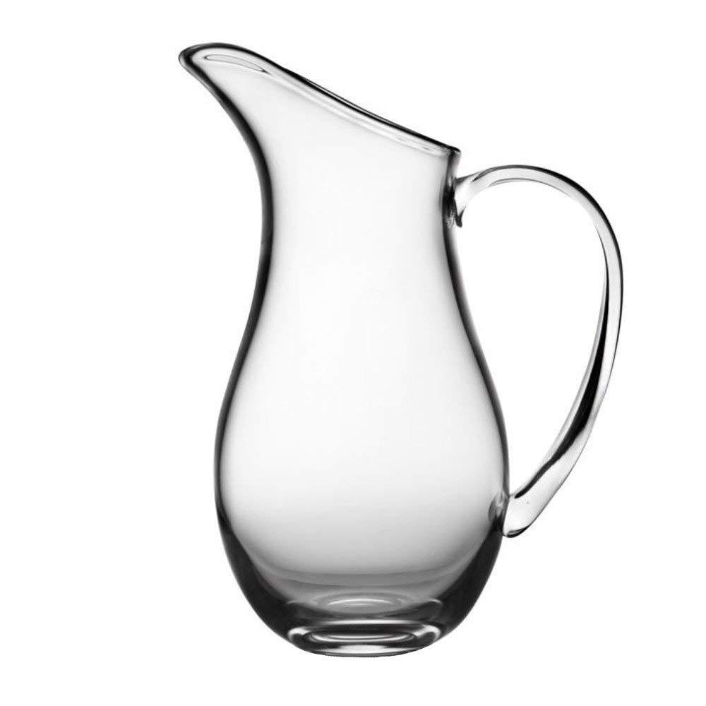 Nambe Moderne Glass Pitcher, 11-Inch