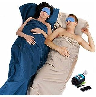 Alvivo 100/% Baumwolle Schlafsackinlet mit Dreieck
