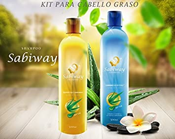 Shampoo Sabiway Kit For Oily Hair – Cabello Graso