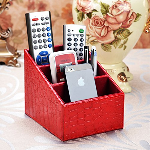 red desk phone - 8