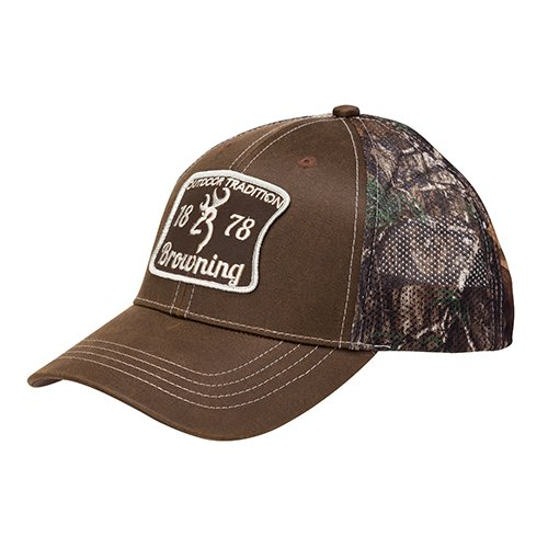Browning 308172881 Cap, Outdoor Tradition, Realtree Xtra/solid