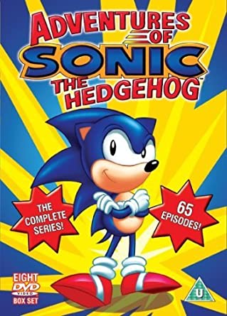 Amazon Com Sonic Adventures Of Sonic The Hedgehog The Complete Series Dvd Movies Tv