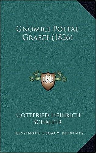 Télécharger des livres sur I podGnomici Poetae Graeci (1826) (Greek Edition) (Littérature Française) PDF CHM ePub